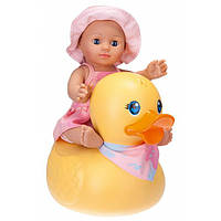 Schildkröt Кукла для купания с большой уткой 30 см 610300002 Kids Bath Doll Girl with Decorative