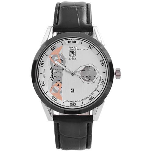 Часы наручные мужские 8236-1/A-07 TAG Heuer White Gr-Bk (копия)