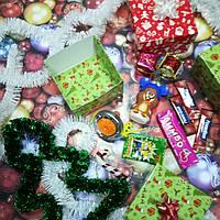 Новогодний подарок Sundy Box X сладкий с игрушкой БейБлейд с запуском