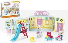 """Игровой набор """"Закусочная"""" CJ 888-003 с мебелью и животными, 31 эл."""