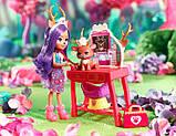 Enchantimals Данесса Дир Заботливый ветеринар GBX04 Caring Vet Playset with Danessa Deer Doll, фото 6