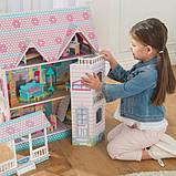 KidKraft Кукольный домик дом Усадьба Аббатства 65941 Abbey Manor Pink Dollhouse, фото 5