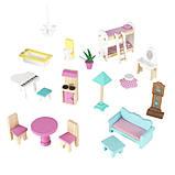 KidKraft Кукольный домик дом Усадьба Аббатства 65941 Abbey Manor Pink Dollhouse, фото 6