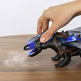 DreamWorks Dragons Беззубик Toothless дышит паром Как приручить дракона Огнедышащий 6045435 Giant Fire, фото 4
