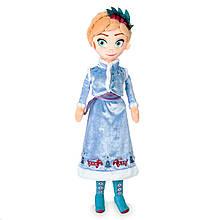 Disney Мягкая игрушка кукла Анна Холодное Сердце anna Doll plush Olaf's Frozen Adventure Medium 18