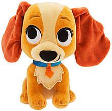 Disney Мягкая игрушка собака Леди Леди и Бродяга Lady & The Tramp Furrytale Friends Lady Plush
