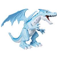 Robo Alive Интерактивный снежный дракон 7115B Dragon Blue Fire Breathing Roaring