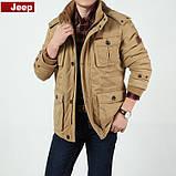 Jeep original 100% бавовна Чоловіча куртка еврозима джип парку, фото 4