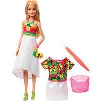 Barbie Crayola Барби Крайола Фруктовый сюрприз GBK18 Rainbow Fruit Surprise Doll Fashions