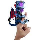 WowWee Fingerlings Інтерактивний ручний дракон 3864 Shockwave Untamed Dragon, фото 2