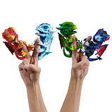 WowWee Fingerlings Интерактивный ручной дракон 3864 Shockwave Untamed Dragon, фото 5