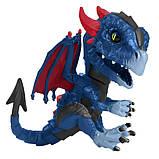 WowWee Fingerlings Інтерактивний ручний дракон 3864 Shockwave Untamed Dragon, фото 7