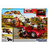 Hot Wheels Monster Trucks Передвижной трамплин GFR15 Downhill Race Go Playset, фото 5