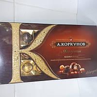 Конфеты шоколадные Ассорти в коробке А.Коркунов 192 грамма
