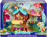Enchantimals Домик бабочек и Бакси бабочка GBX08 Butterfly Clubhouse Playset with Baxi Butterfly Doll, фото 6