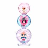 L. O. L. Surprise! S6 Кукла сюрприз Зимнее диско Серия Глиттер 561613 Winter Disco Glitter Globe, фото 6