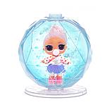 L. O. L. Surprise! S6 Кукла сюрприз Зимнее диско Серия Глиттер 561613 Winter Disco Glitter Globe, фото 5