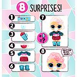 L. O. L. Surprise! S6 Кукла сюрприз Зимнее диско Серия Глиттер 561613 Winter Disco Glitter Globe, фото 3