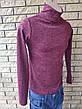 Гольф, водолазка свитер унисекс ангоровый  ELEGANCE, Турция, фото 4