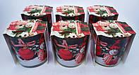 Свечи ароматизированные в стаканах Bispol Польша Веселое Рождество