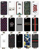 Чехол с принтом в стиле Gucci Гуччи для Iphone 6 6S 6Plus 6S Plus