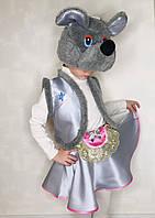 Дитячий карнавальний костюм Мишка для дівчинки 4-7 років 342