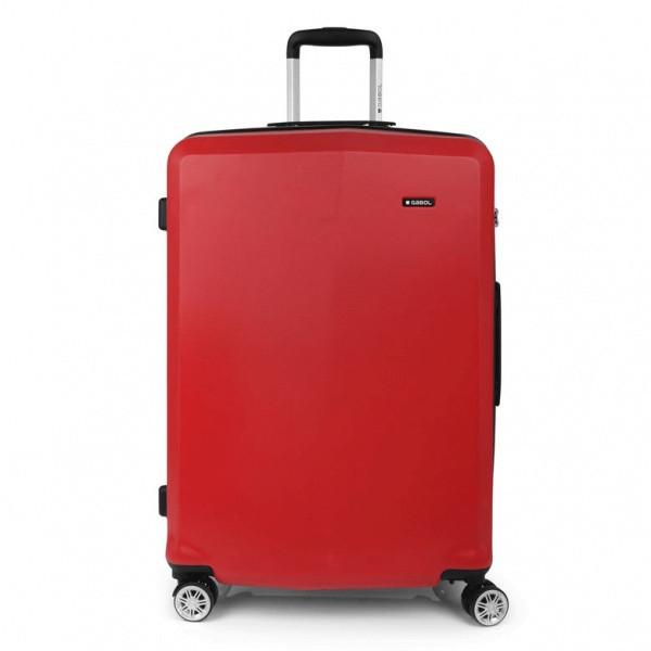 Чемодан дорожный на колёсах Gabol Mondrian (L) Red, 88 л. (520 x 750 x 300 см.)