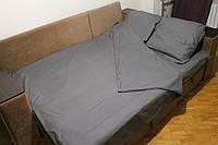 Комплект постельного белья Серый (двуспальный)