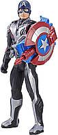 "Интерактивная фигурка Капитан Америка (E3301) ""Мстители: Завершение"" серия Titan Hero Power FX Port, фото 1"