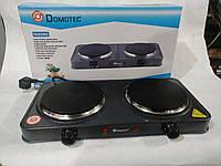 Электроплита настольная Domotec MS-5822 (2 диска)