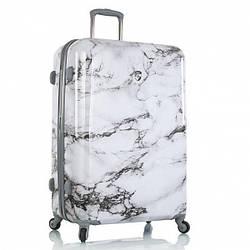 Чемодан дорожный на колёсах Heys Bianco (L) White Marble, 132 л. (760 x 520 x 290 см.)