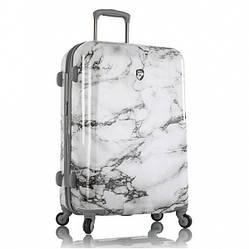 Чемодан дорожный на колёсах Heys Bianco (M) White Marble, 88 л. (660 x 460 x 270 см.)