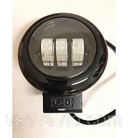 Светодиодная фара LED круг ближний 45W  Ø 115*60mm W0430BB Flood Корея 3723 (1шт)