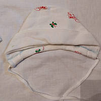 Тёплая шапочка 0-6 месяцев, фото 1