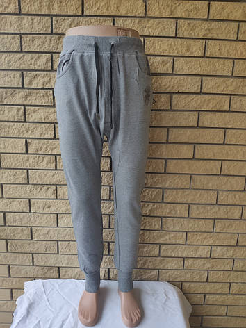 Спортивные штаны утепленные высокого качества унисекс трикотажные на флисе INCOGNITO,Турция, фото 2