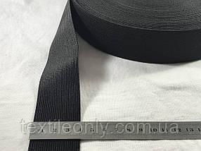 Резинка швейная/бельевая чёрная 4 см (40 метров рулон)