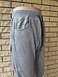 Спортивные штаны утепленные высокого качества унисекс трикотажные на флисе INCOGNITO,Турция, фото 4