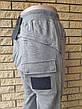Спортивные штаны утепленные высокого качества унисекс трикотажные на флисе INCOGNITO,Турция, фото 5