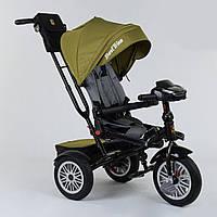Велосипед 3-х колёсный Best Trike с поворотным сиденьем,складной руль,с корзиной для игрушек.