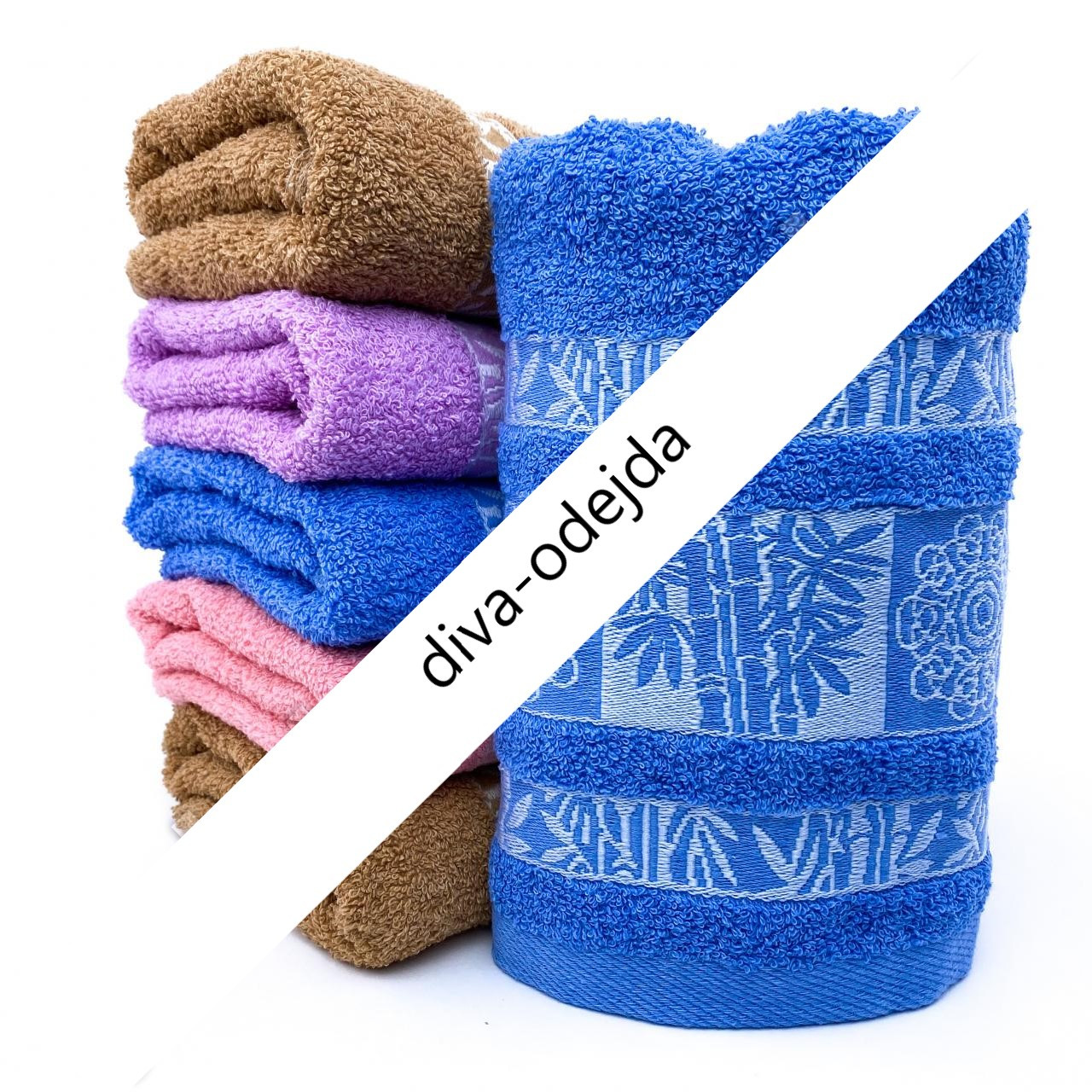 Полотенце для рук и лица с красивыми русунками.Размер:1,0 x 0,5