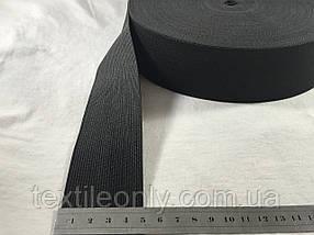 Гумка швейна/білизняна чорна 5 см (40 метрів рулон)
