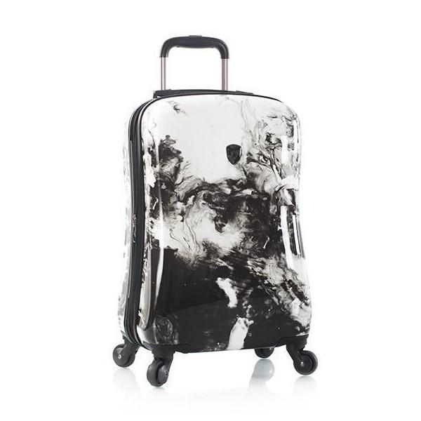 Чемодан дорожный на колёсах Heys Marble Swirl (S) Stone Print, 45 л. (530 x 360 x 230 см.)