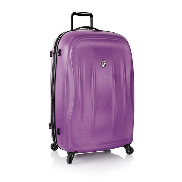 Чемодан дорожный на колёсах Heys SuperLite (L) Purple, 104 л. (76.2 x 48 x 31.7 см.)