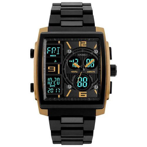 Часы наручные SKMEI 1274 Black-Gold