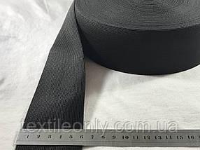 Гумка швейна/білизняна чорна 6 см (40 метрів рулон)