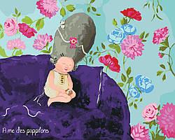Картина по номерам Ніжні метелики KNG026 40x50 см, Идейка