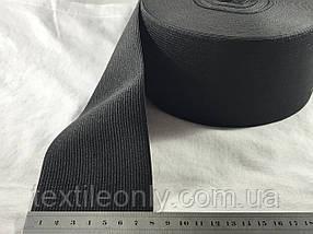 Гумка швейна/білизняна чорна 8 см (40 метрів рулон)