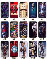 Чехол премиум качества с принтом Marvel DC Комиксы для Iphone 7 8 7Plus 8Plus