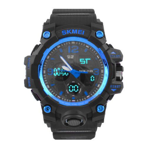 Часы наручные SKMEI 1155 Black-Blue