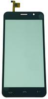 Сенсорный экран (тачскрин) для телефона DOOGEE HomTom HT16, Ergo A503, черный